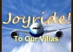 Let us pay for your flight to visit one of our Fractional Villas anywhere in the world!